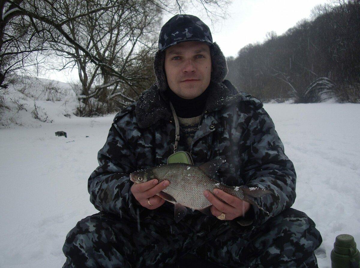 Зимния рыбалка в тульской области