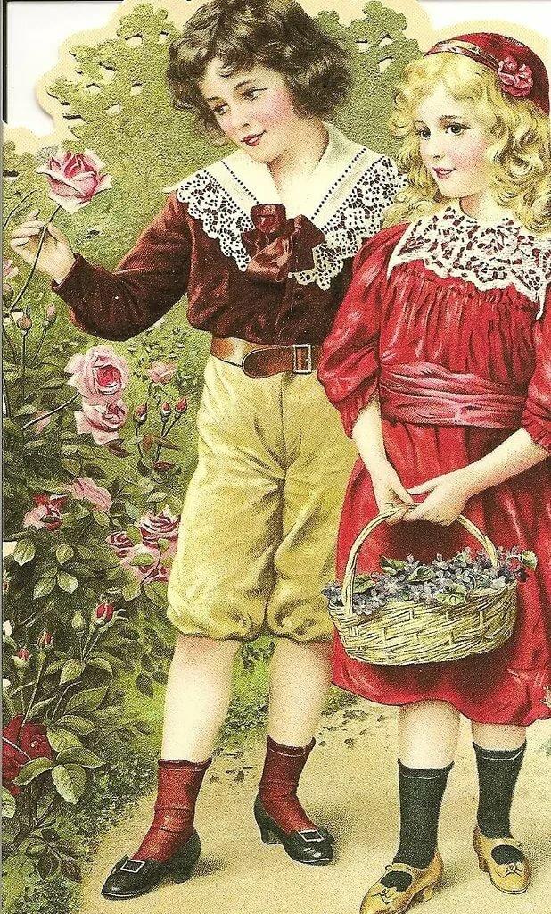 Картинки днем, коллекции ретро открыток