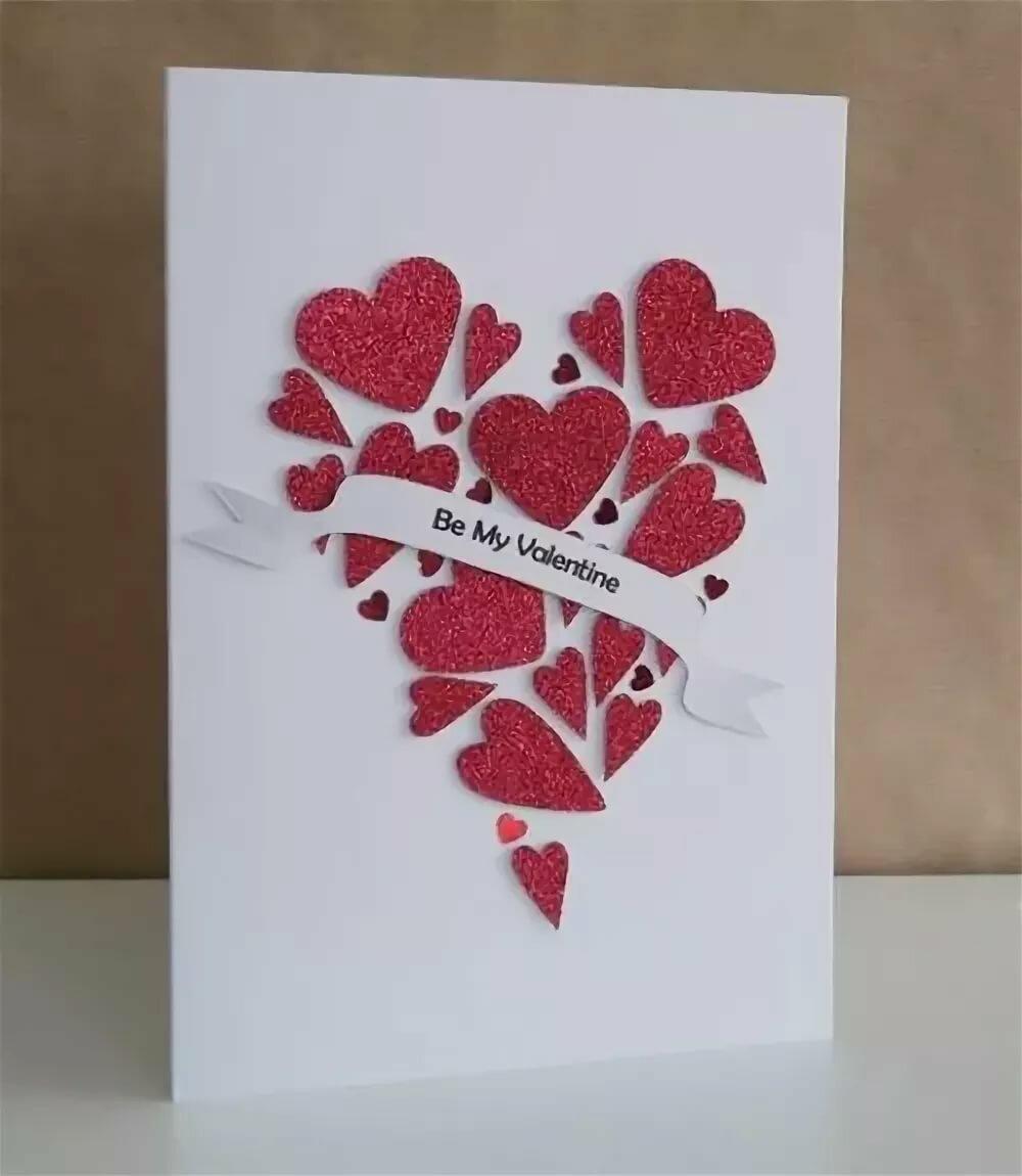 Как сделать открытку на день святого валентина видео, розы гифка