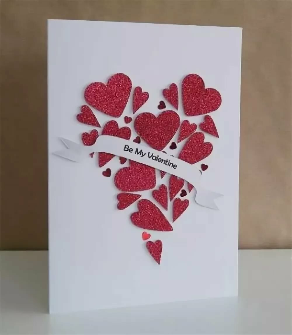 Днем, открытки своими руками на валентина