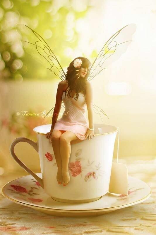 Доброе утро ангел картинки красивые необычные нежные девушке