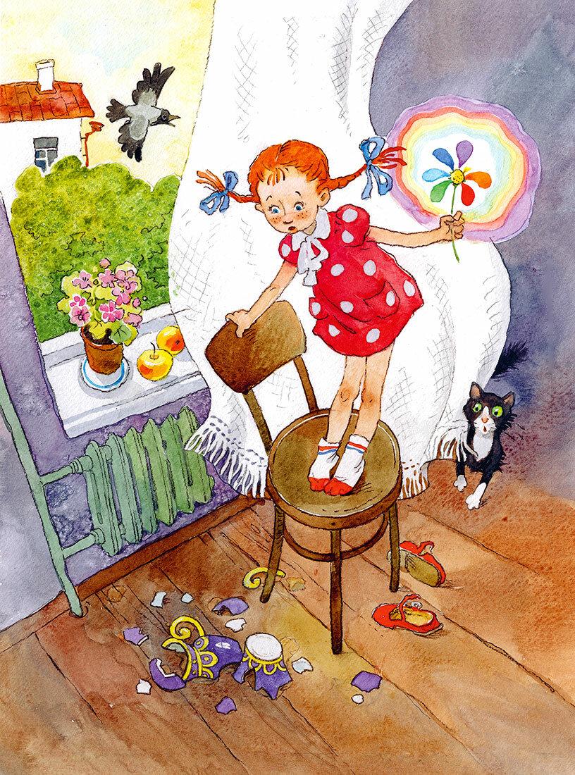Картинки по мультфильму цветик семицветик