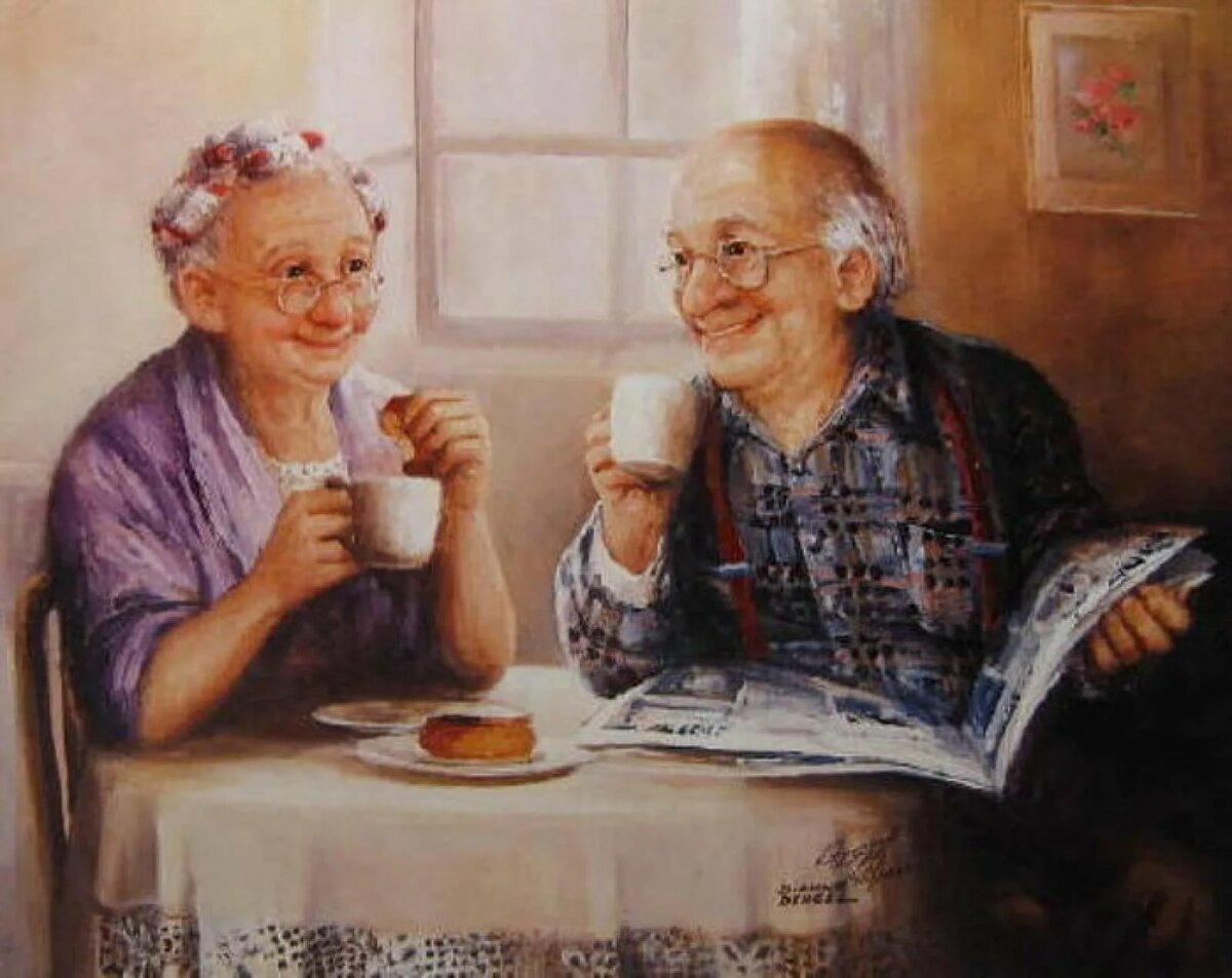 Счастливая старость картинки прикольные