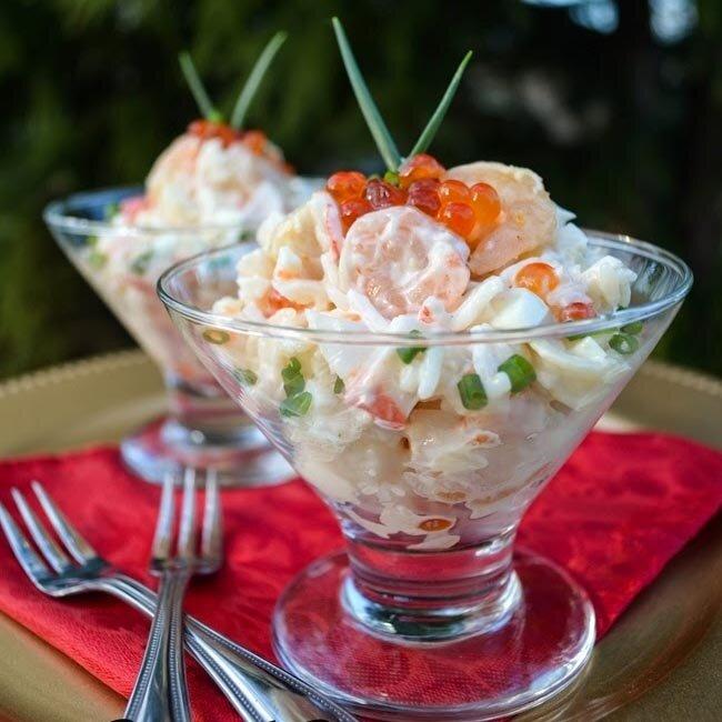 Коктейль салат картинки