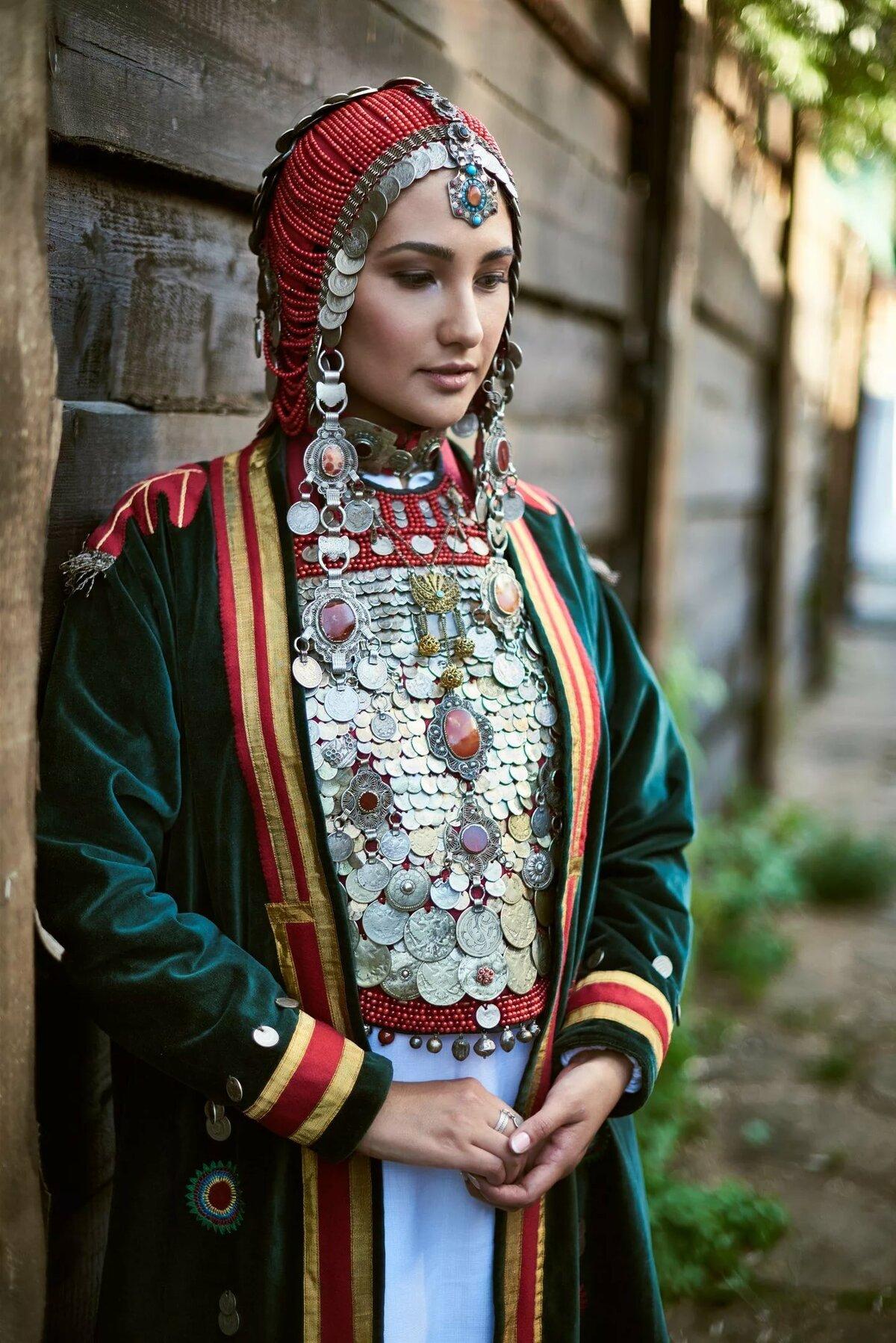 башкирский народный костюм картинки трафареты