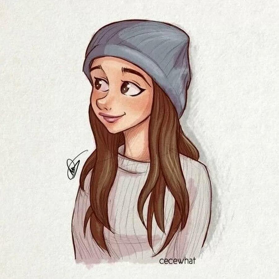 Картинки на аву для девочек 12 лет крутые нарисованные