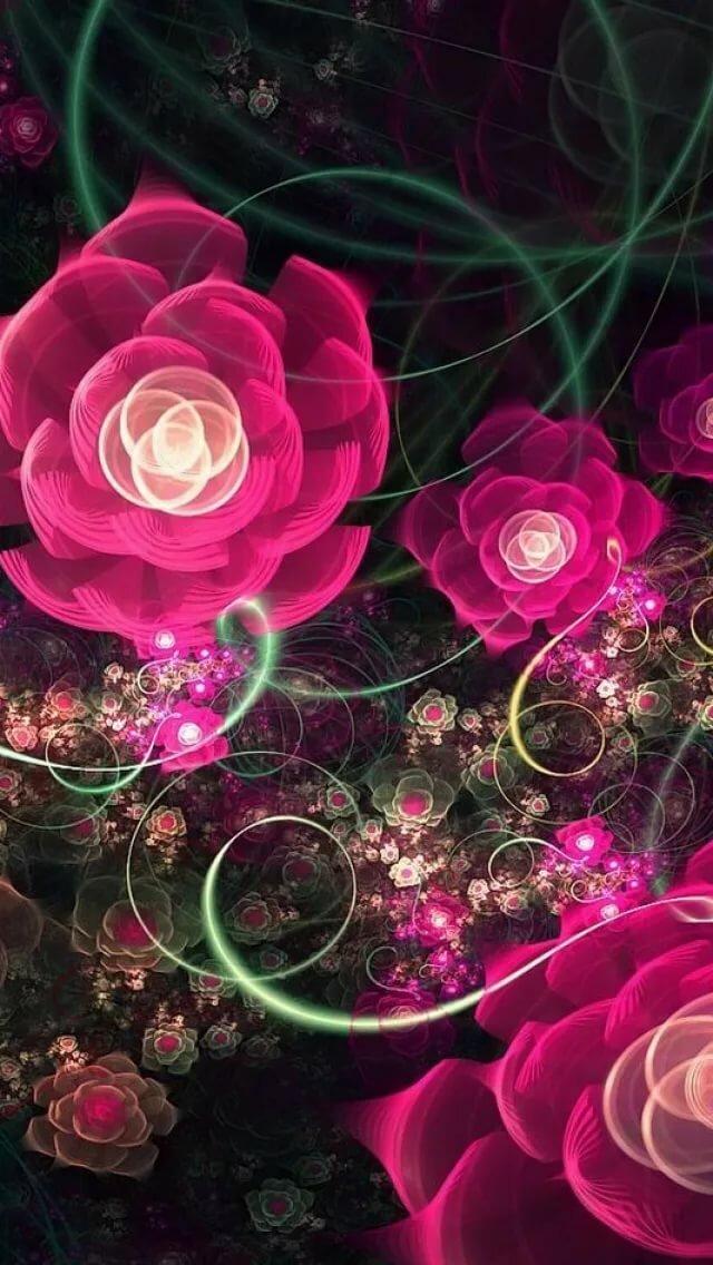 Газового открытки, картинки для мобильного телефона цветы