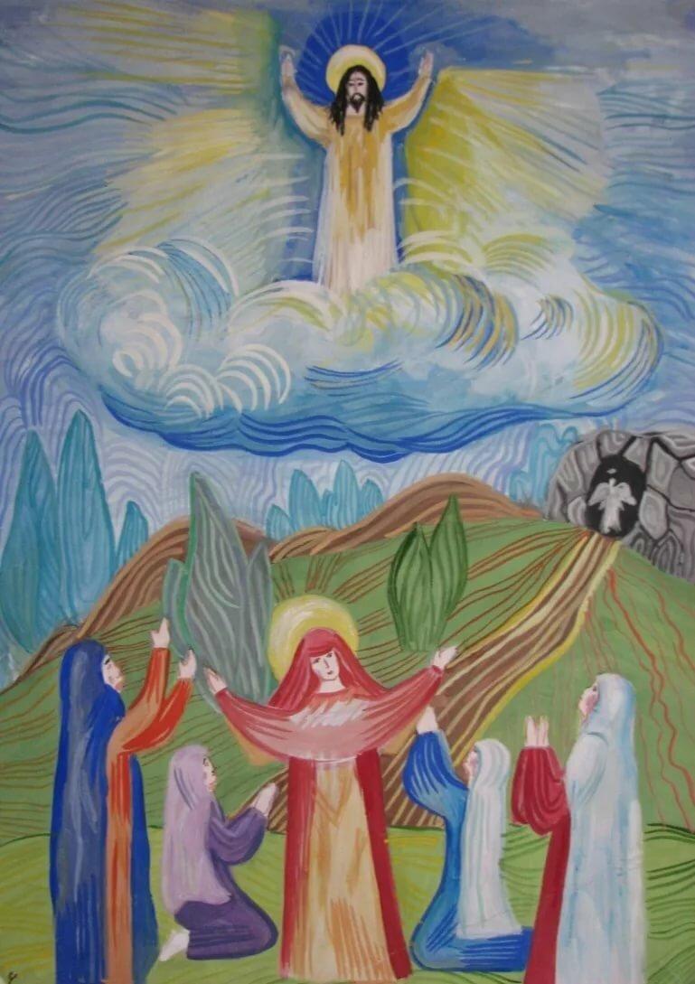 библейский сюжет на тему пасха в картинках шквал это