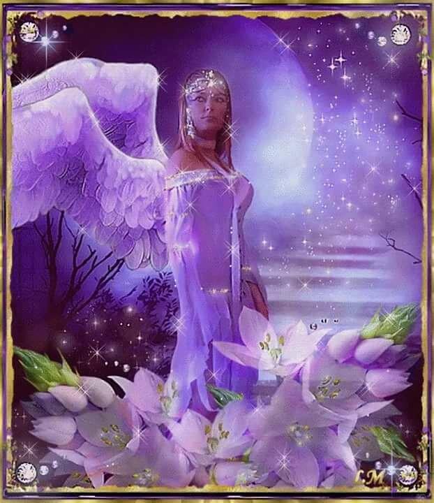 Открытка женщина богиня, красивые день рождения
