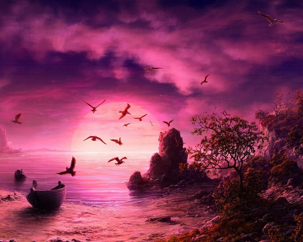 Фэнтези картинки природа море