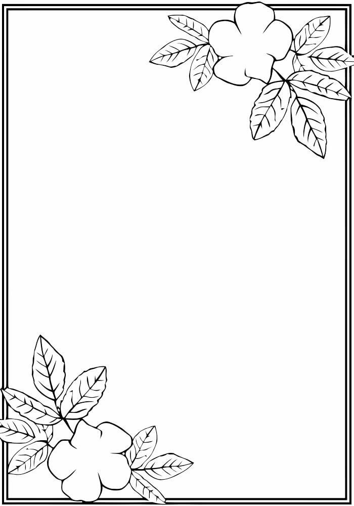 Ежедневные дела, рамки для открытки рисунки