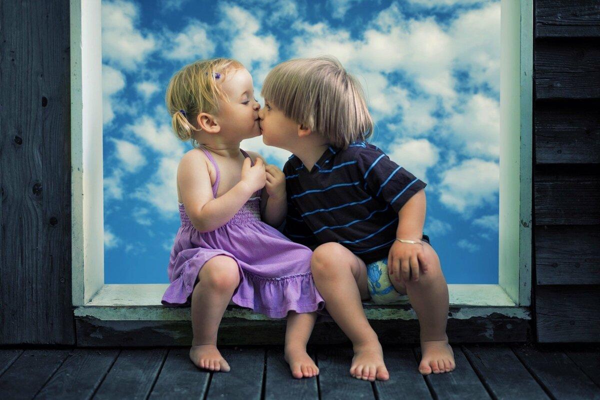Цветами, картинки с поцелуями прикольные детские картинки