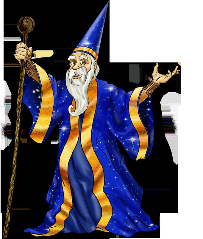 картинка колдун из сказки для