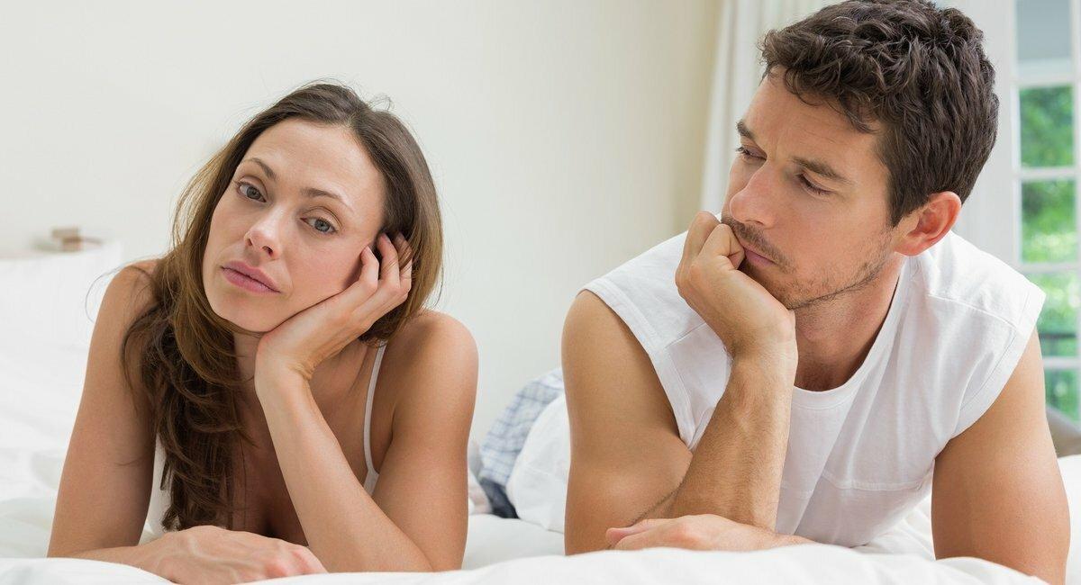 пять минут если муж стал слаб в постели телок