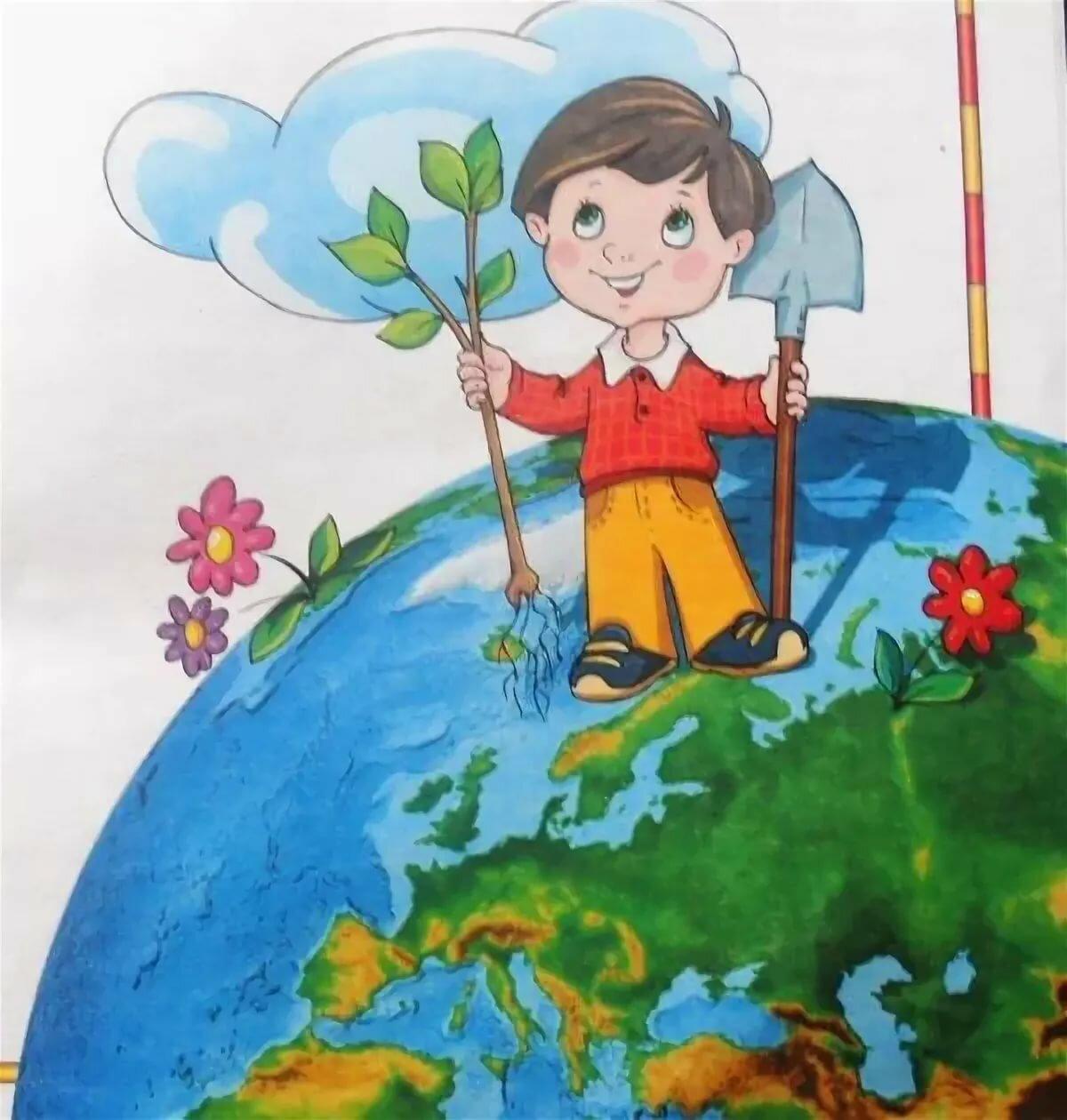 Картинки экологии для детей, февраля