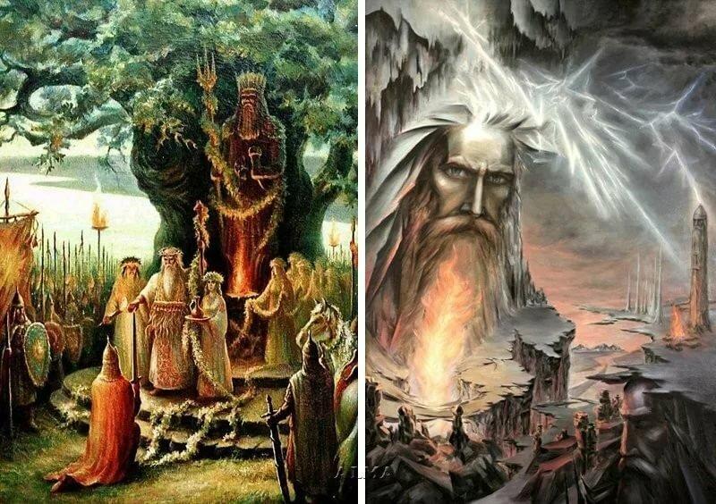 Пожелание, картинки языческие боги