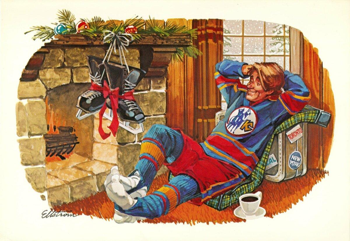 новогодние поздравления хоккеистам первого