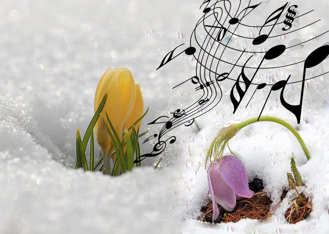 Картинка для, открытки мелодия весны
