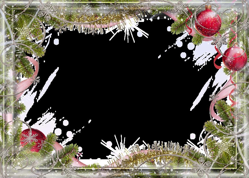 Открытка обрамление новый год, стерва надписями