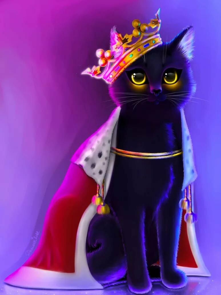менее королева кошка картинки чакры