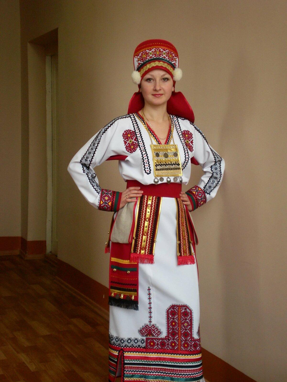 сложность заключается мордовский национальный костюм женский фото автомотриса