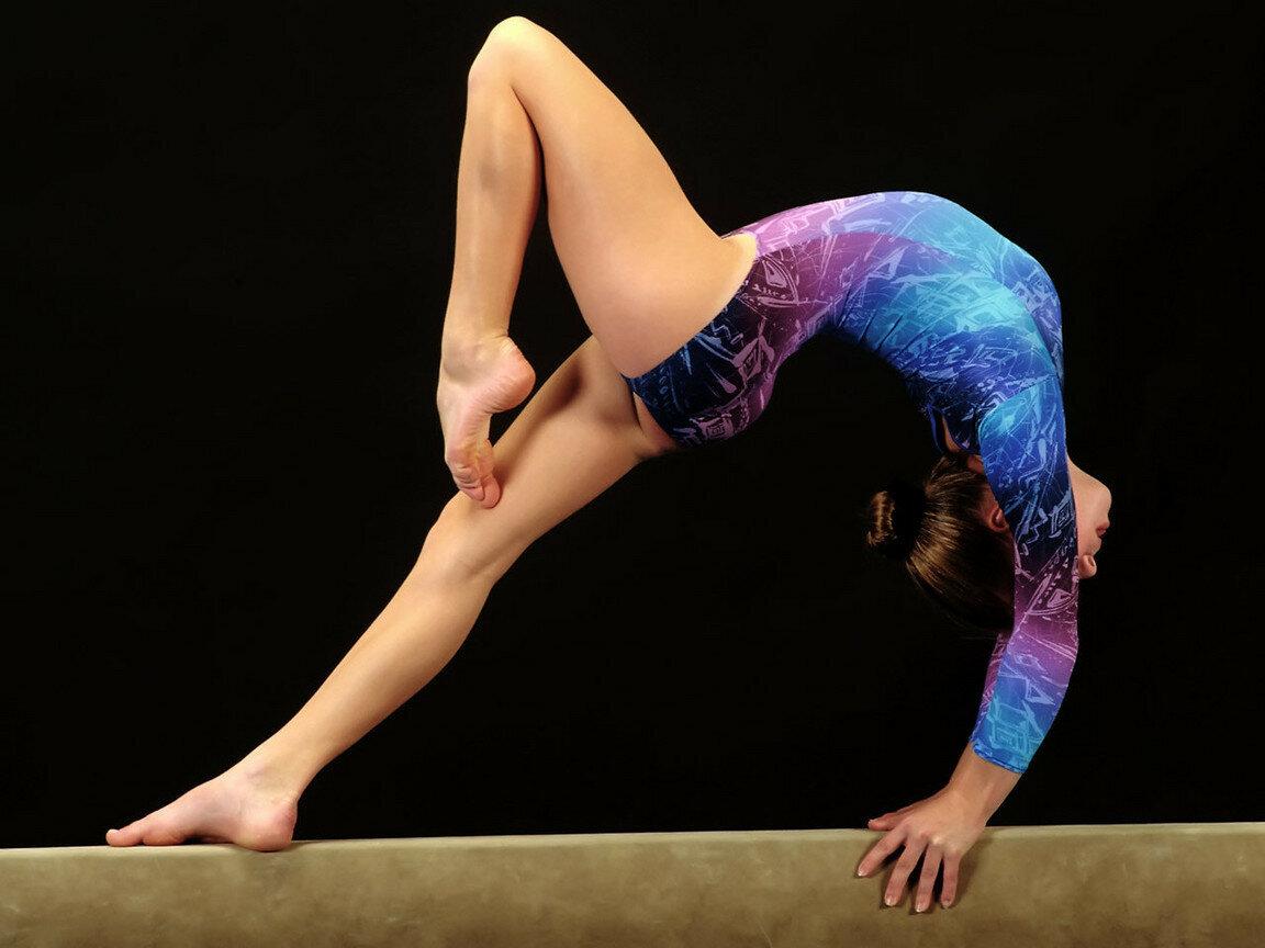Фото с гимнастками