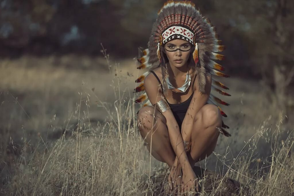 naked-american-indian-women-portraits