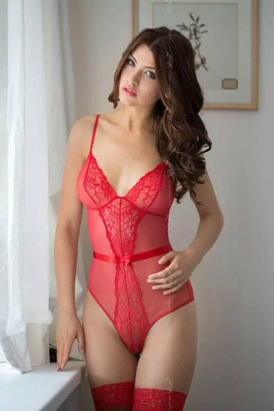 Wife and lingerie and reveal