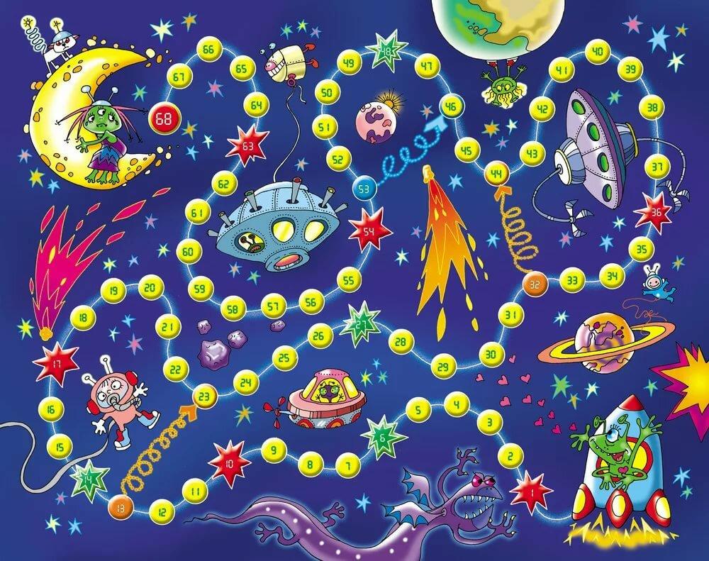 Картинки с космоса для детей, технические