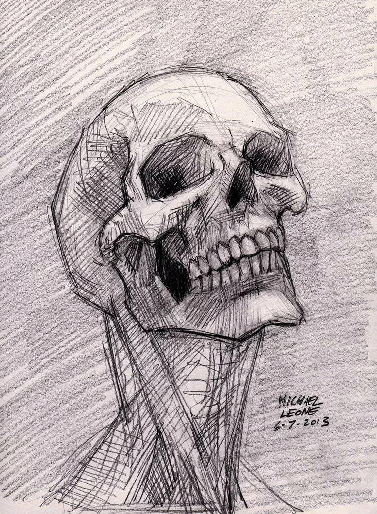 картинки черепов и скелетов карандашом австрийский премьер принял