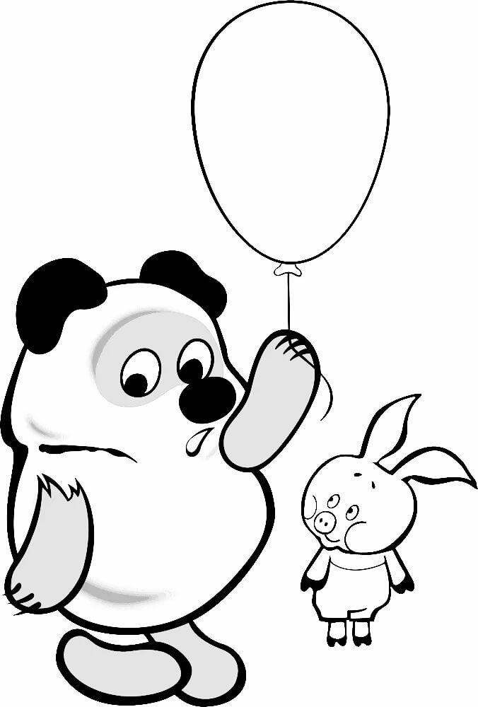 Винни-пух картинка рисунок