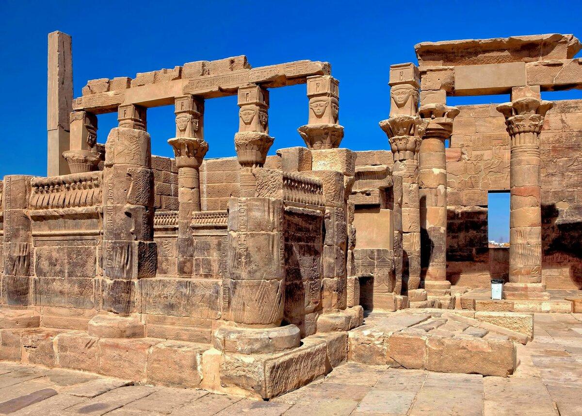 архитектура в древнем египте с картинками