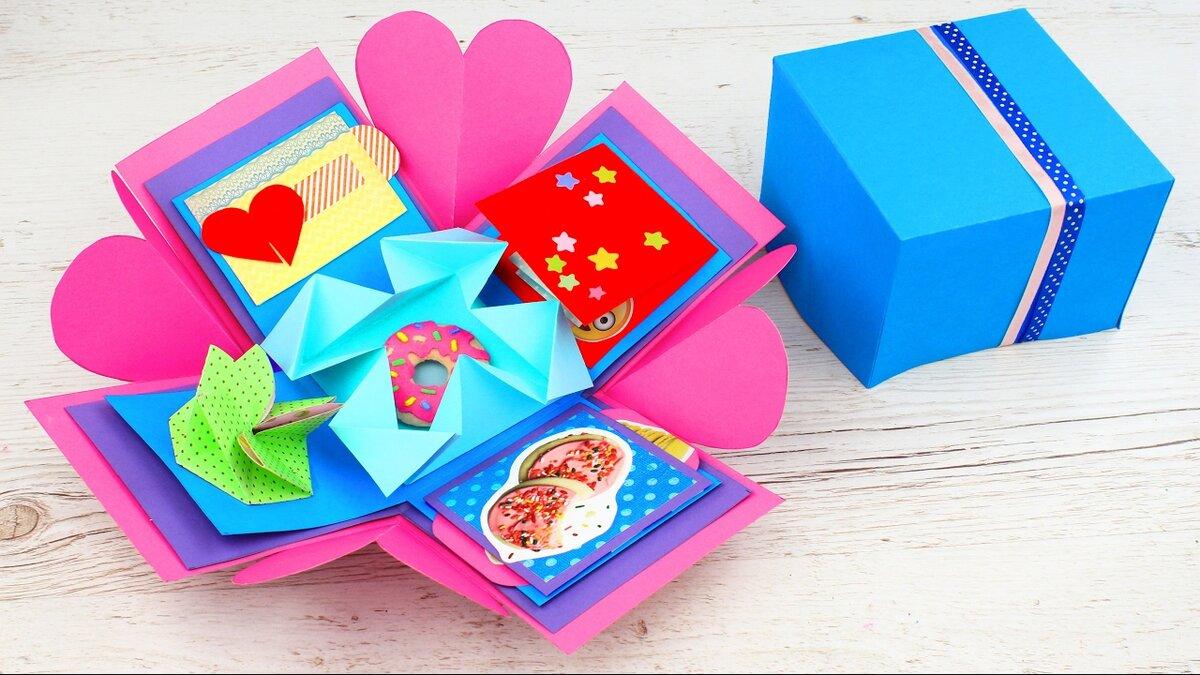 Открытки оригами с сюрпризом