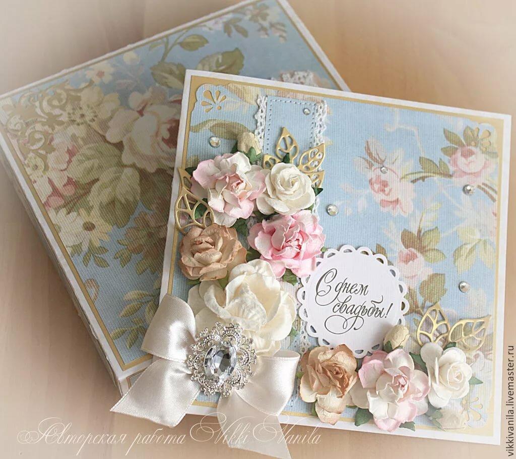 скрап открытка на свадьбу своими руками