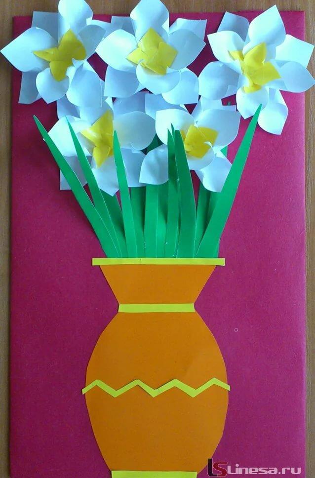Как сделать открытку для 8 марта девочкам