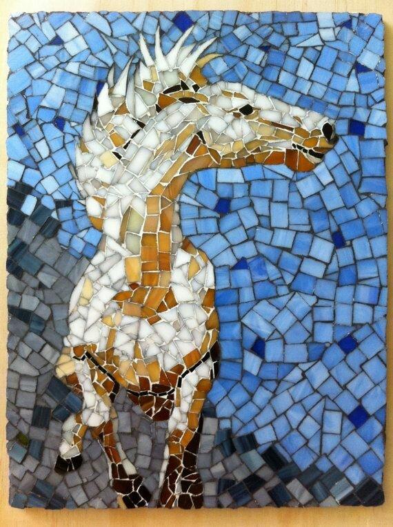 Картинка животного для мозаики