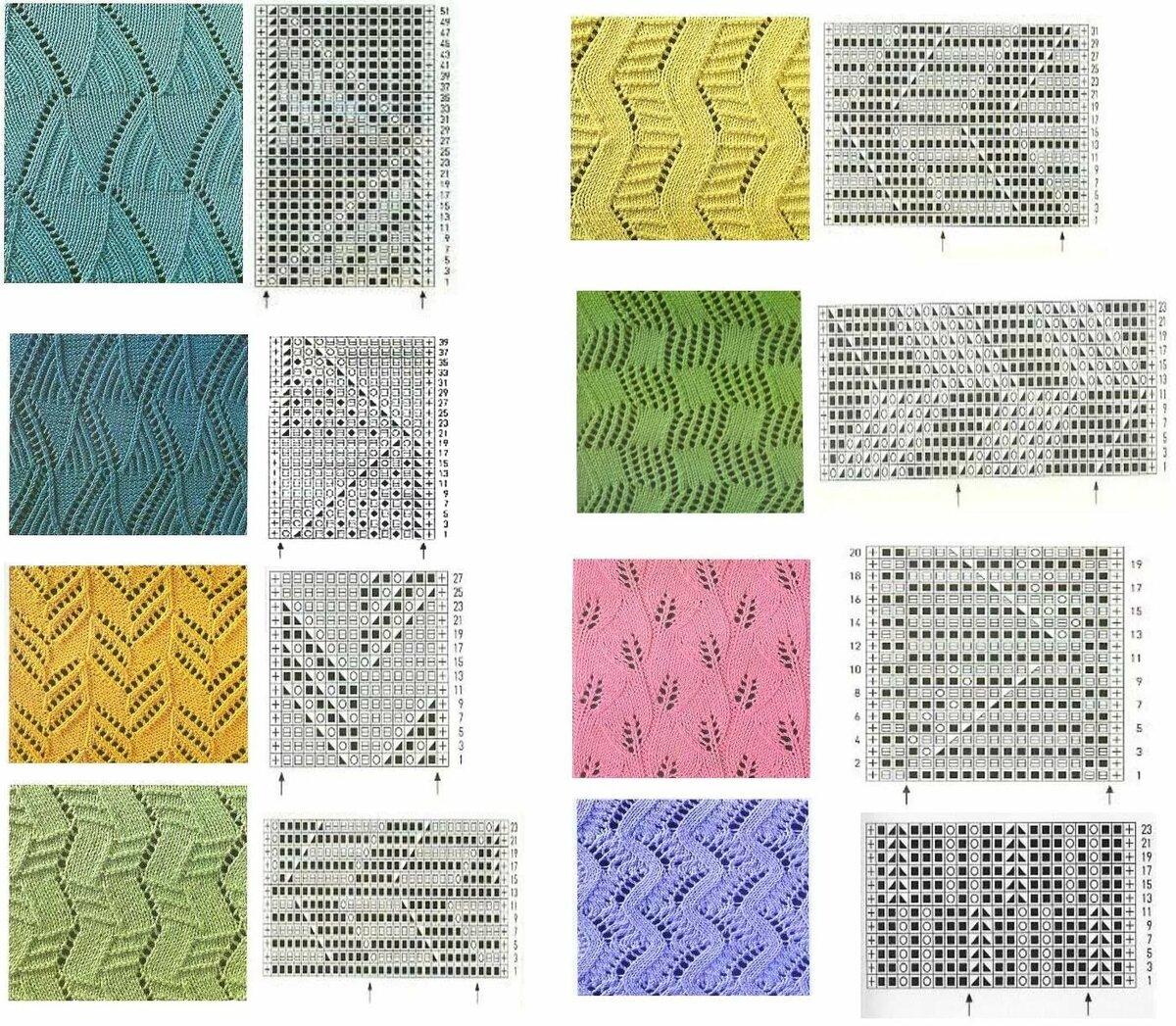Картинки вязание узоры на спицах