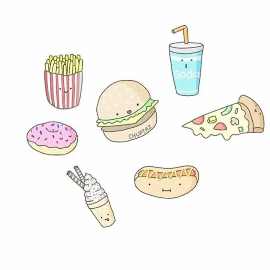 Поздравлениями дню, картинки для срисовки легкие и красивые для начинающих карандашом смешные еда