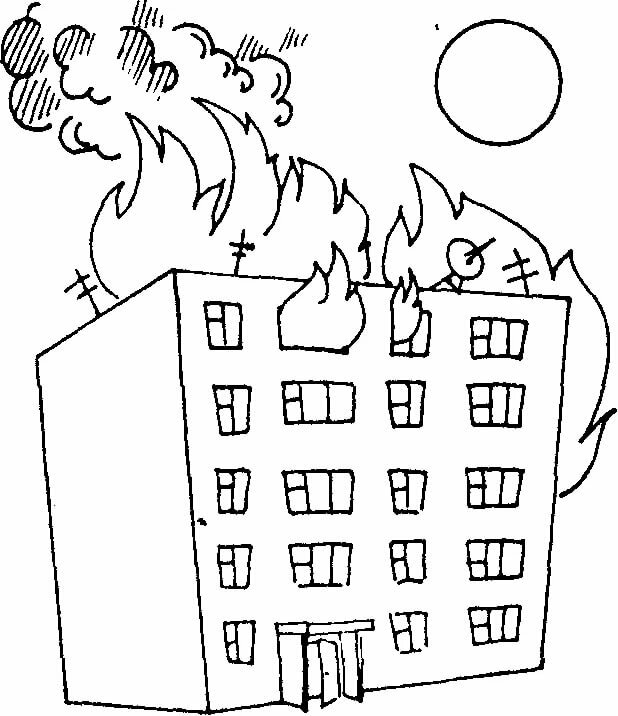Рисунки карандашом огонь враг бизнесмену