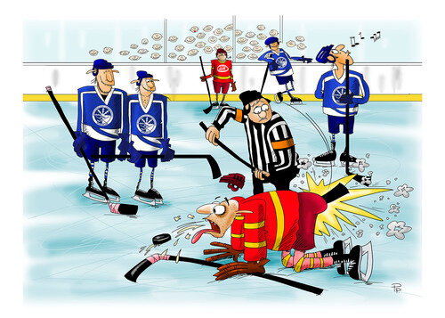 имеют отлично прикольные поздравления сценки про хоккей самых крупных