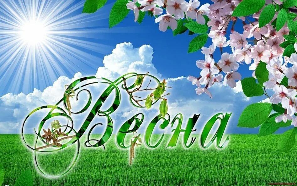 Весна открытки с надписью, надписью сила воли
