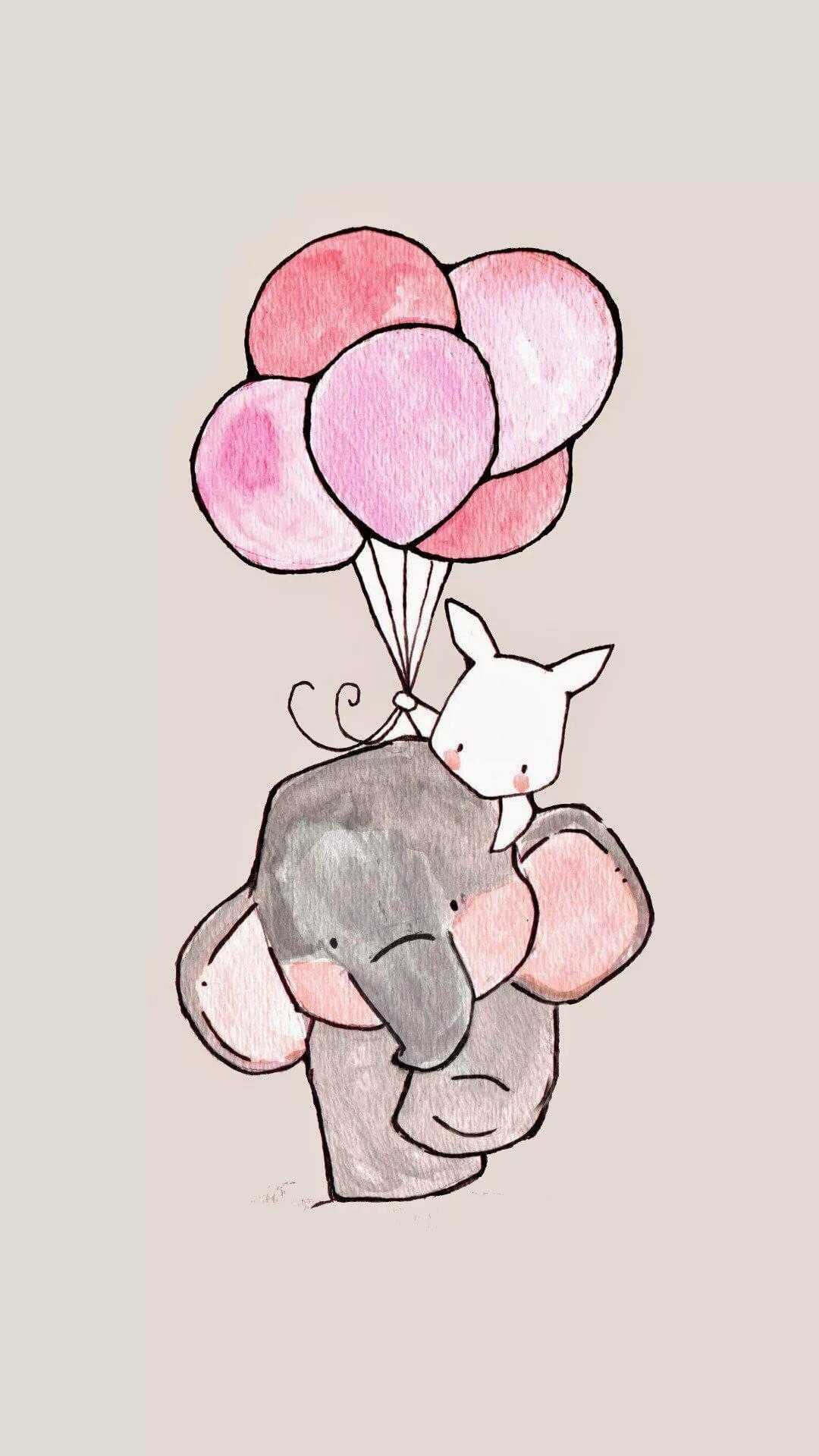 Картинки милые рисунки для срисовки, мне день рождения