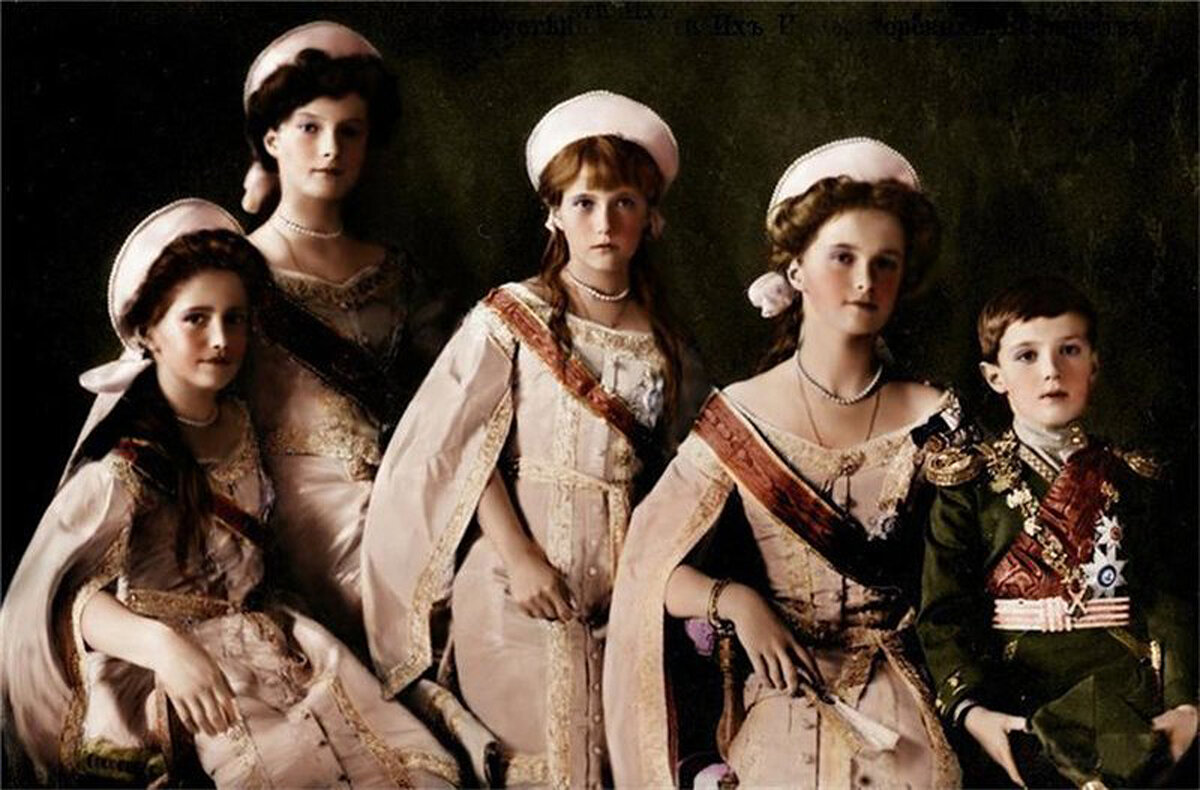 Романовы фото всей династии головы на фотках