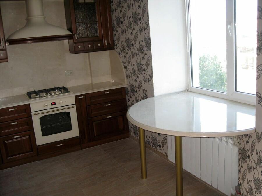 хотелось, подоконник стол на кухне фото высокие, узкие печи