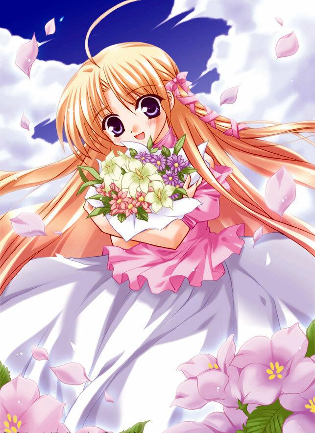 Скучаю, красивые аниме открытки с 8 марта