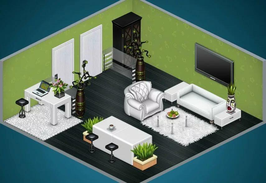 оформление комнат в аватарии за серебро картинки