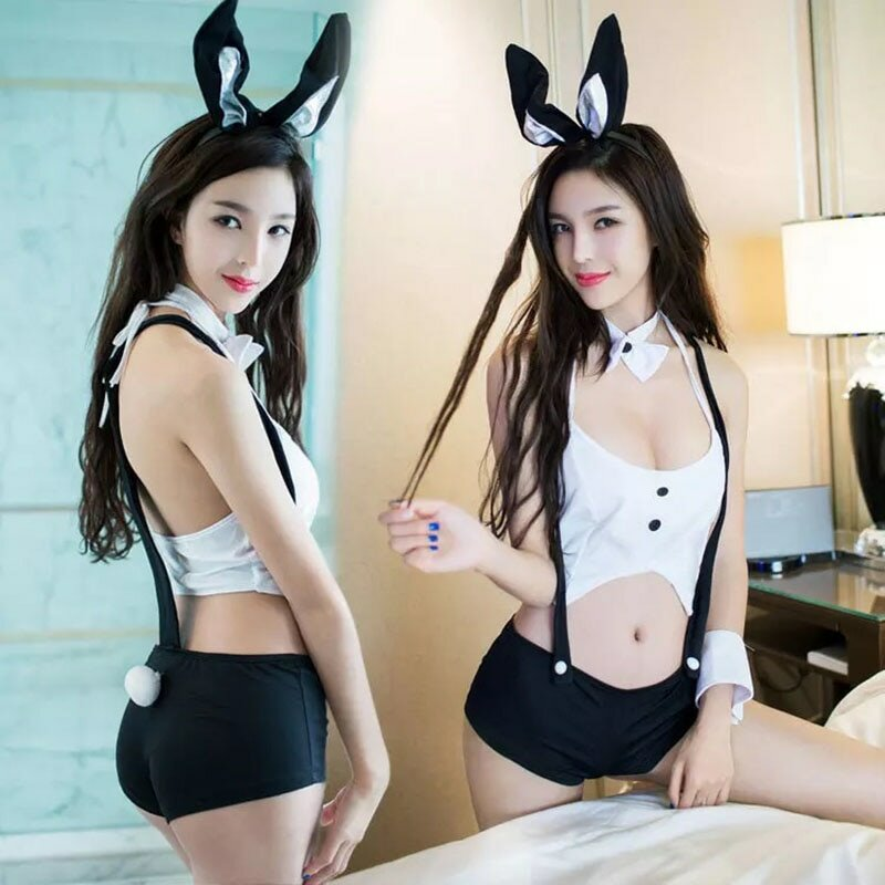 Bunny Costume Sexy Rabbit Girl One Size Nightclub Pornhd6k 1