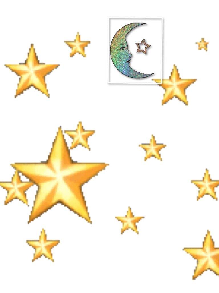 Картинки звездочек анимация, спи мой