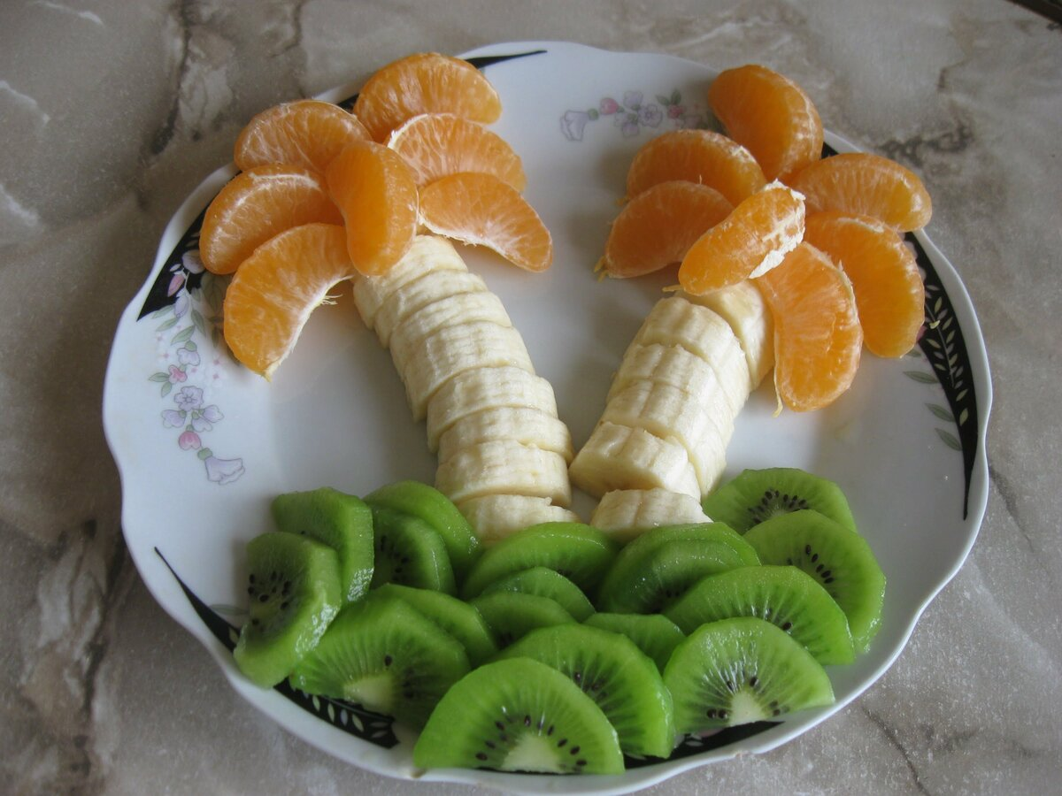 как нарезка фруктов на праздничный стол фото используем для