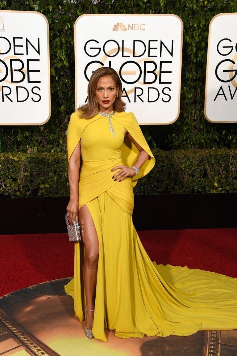 Дженнифер лопес в желтом платье фото